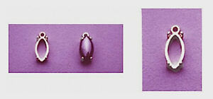 Marquise-Cabochon-925-Sterling-Silver-Dangle-Casting-8x4mm-to-16x8mm