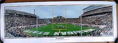 Michigan State University Football Spartans 19 Yard Line panoramic - Large