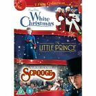Christmas Collection - White Christmas/Little Prince/Scrooge (DVD, 2012, 3-Disc Set)
