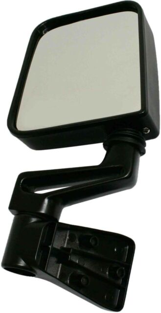 NEW Black Driver Side Side View Mirror for 94-95/97-02 JEEP WRANGLER