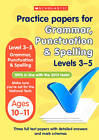 Grammar, Punctuation and Spelling Levels 3-5 by Lesley Fletcher (Paperback, 2000)