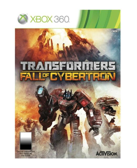 Transformers: Fall of Cybertron (Xbox 360, 2012, PAL)