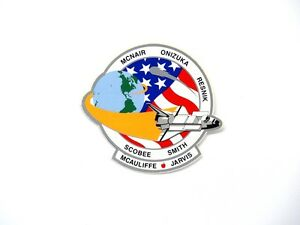 Space Shuttle Mission Decal STS-51-L NASA Challenger O ...