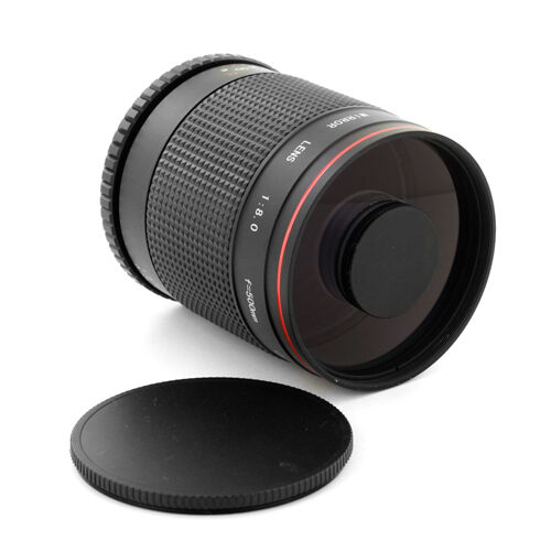Albinar 500mm f/8 Telephoto Mirror Lens for Canon Rebel 300D Xt 350D Xti 400D 5D