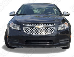 2011 2012 2013 chevrolet chevy cruze ls lt ltz chrome abs overlay grille grill. Black Bedroom Furniture Sets. Home Design Ideas