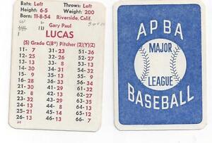Apba Baseball Cards Lookup Beforebuying