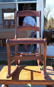 Caned-Walnut-Sewing-Rocker-Rocking-Chair-R121