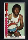 1976 Topps Rich Jones #52 Basketball Card
