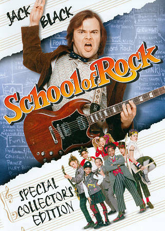 The School of Rock (DVD, 2013) New and Sealed! Free Shipping!!