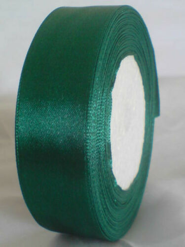 Lovely Satin Ribbon 10-25 mm Single Sided Faced 1-5 metres Assorted Colours