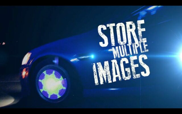 "Fantasma OWL On-wheel Lighting /Image System 15"" 2nd Generation (WL1502R) 1 Tire"