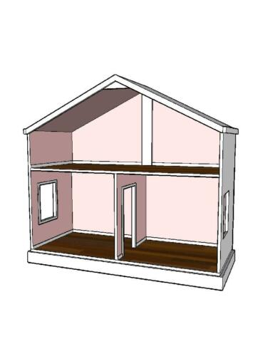 American Girl doll house plans