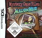 Mystery Case Files: MillionHeir (Nintendo DS, 2009)
