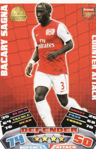 Match Attax 11//12 Arsenal Cards Pick Your Own From List