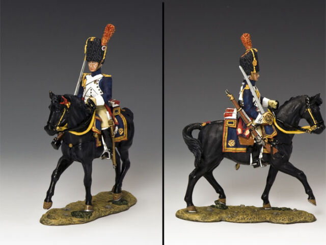KING AND COUNTRY French Mounted Grenadier with Sword (looking front) NA220
