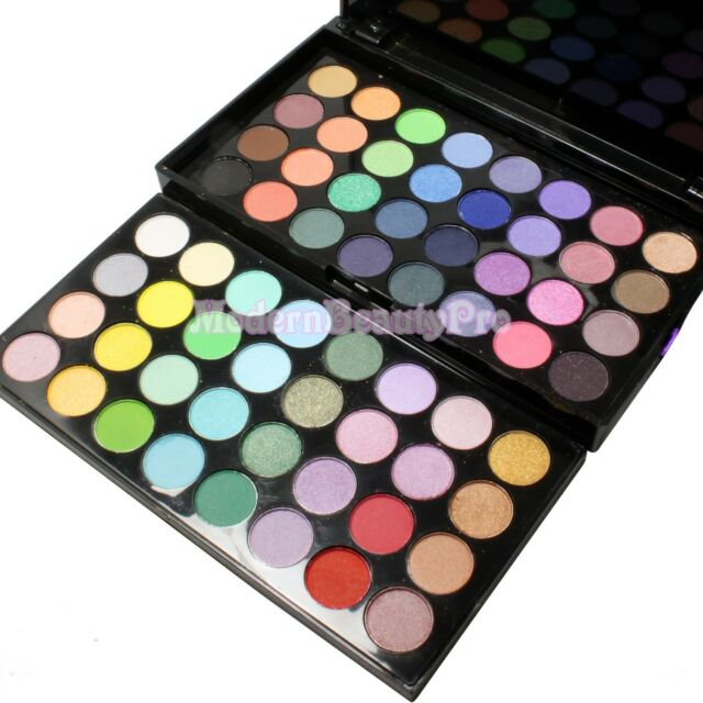 MANLY 64 COLOR EYESHADOW COSMETIC MAKEUP PALETTE EYE SHADOW