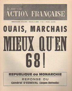 NOUVELLE-ACTION-Francaise-ROYALISME-N-45-mars-1972