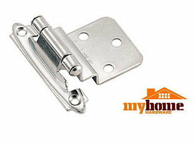 25 Pairs Cabinet Door Inset Hinges Polished Chrome