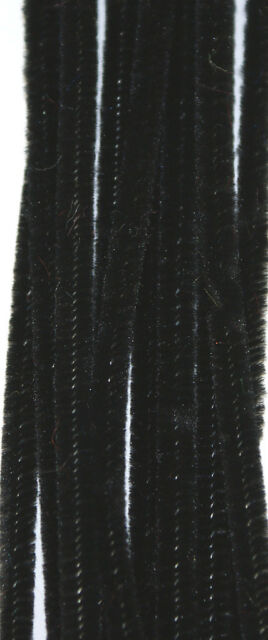 """12"""" / 30cm Chenille Craft Stems Pipe Cleaners - Choice of Colours and Pack Size"""