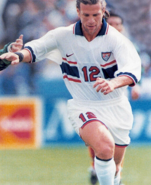 JEFF AGOOS USA OLYMPIC SOCCER 8X10 SPORTS PHOTO (S)