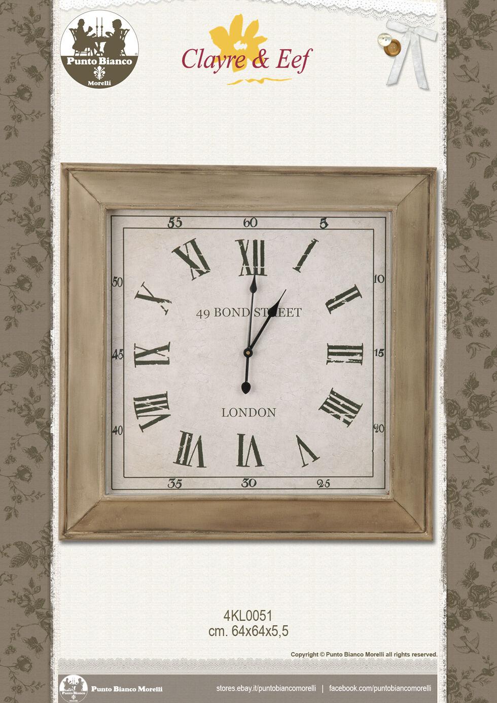 CLAYRE & EEF. Orologio – Clock – – – Uhr. 4KL0051. | Aspect Attrayant  | La Qualité Primacy  | En Qualité Supérieure  312210