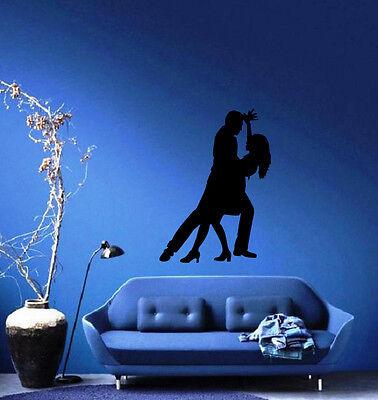 Ballroom Dancing Romance Passion Decor Wall Mural Vinyl Art Decal Sticker M478