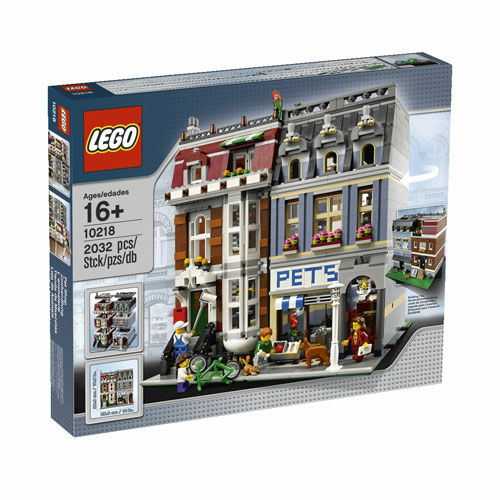 LEGO 10218 Creator Pet Shop Nuovo/Sealed Free & Fast US Shipping