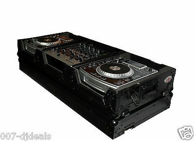 "X-CDM12WBL DJ ProX LARGE CD PLAYER 12"" MIXER COFFIN CASE PIONEER CDJ-900 DMJ-900"