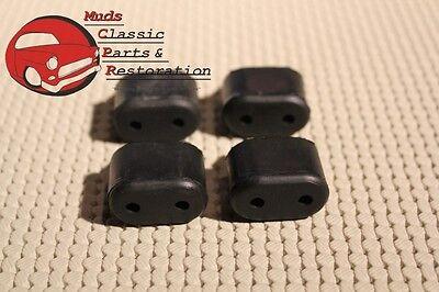 70-88 Firebird/Trans Am Rubber Door Bumpers Stoppers Kit Set of 4