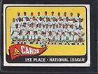 1965 Topps St. Louis Cardinals 57 Baseball Card