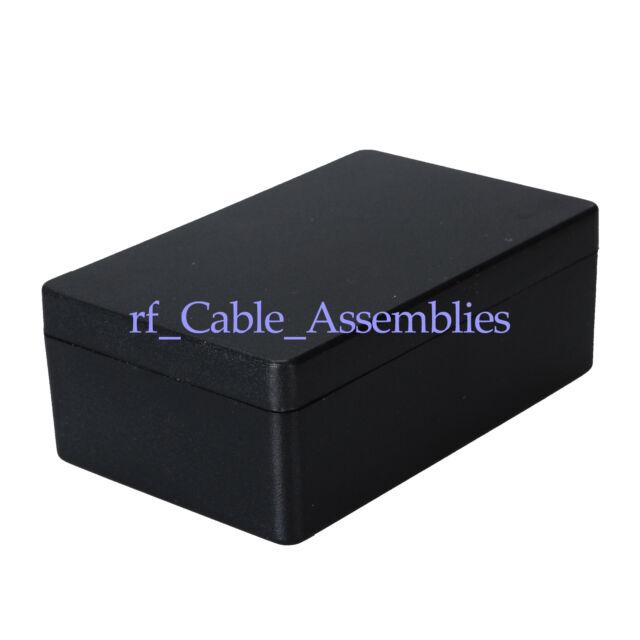 8pcs Black Plastic Electronic Project Box Enclosure case DIY 20x35x55mm (H*W*L)