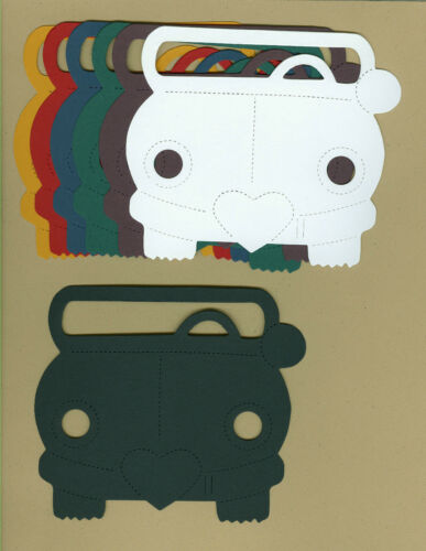 Your choice of colors on Stick Kids Cars Die Cuts Dayco//AccuCut