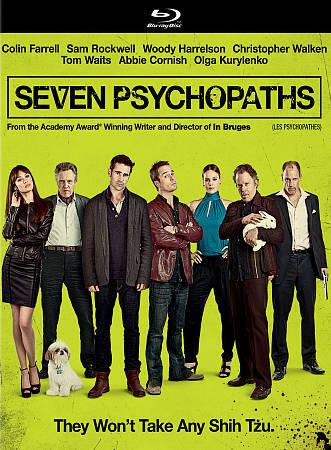 Seven Psychopaths (Blu-ray Disc, 2013, Canadian)