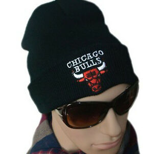 f354d888196 Hip-Hop Supreme CHICAGO BULLS Beanie Cotton Stay warm outdoor knit ...