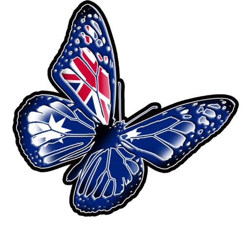 Australian Butterfly2012  Size apr 100mm by 100mm VINYL DECAL MADE IN AUSTRALIA