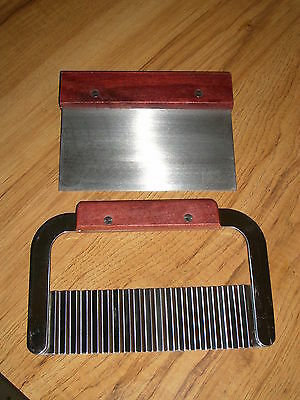 Straight Cutter & Wavy Cutter Great For Slicing Your Homemade Soap