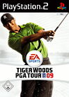 Tiger Woods PGA Tour 09 (Sony PlayStation 2, 2008, DVD-Box)