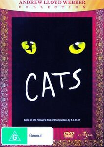 Cats-Andrew-Lloyd-Webber-NEW-DVD-Region-4-AU-Elaine-Paige-John-Mills-Musical