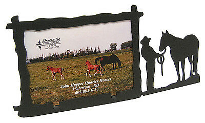 "Girl Woman 4-H Halter Showmanship Picture Frame 3.5""x5"" - 3""x5"" H Horse"