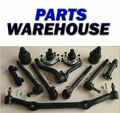 12Pc Suspension kit For Chevy S10 Blazer GMC Sonoma Jimmy Hombre Ball Joints Set