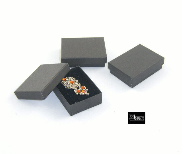 10 x Multi Purpose Charm/Earring Gift Boxes - Colour & Insert Option (Size 3)