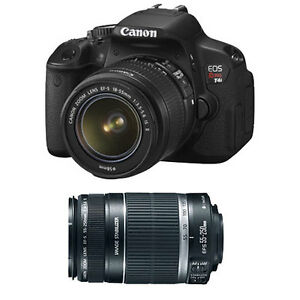 Canon-EOS-Digital-Rebel-T4i-18MP-SLR-Camera-with-18-55mm-amp-55-250mm-lenses