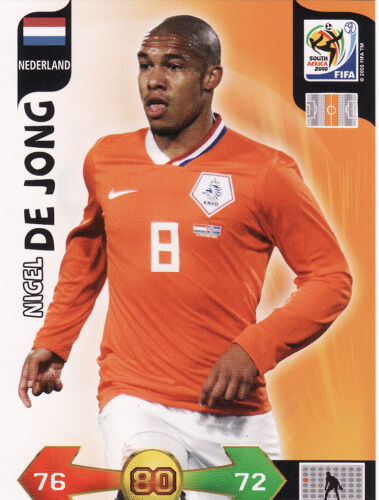 Adrenalyn XL World Cup 2010 Holland Nigeria Trading Cards Pick From List