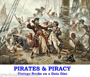 Pirates-Buccaneers-Collection-19-Vintage-Piracy-Books-on-Data-Disc-Kidd-Morgan