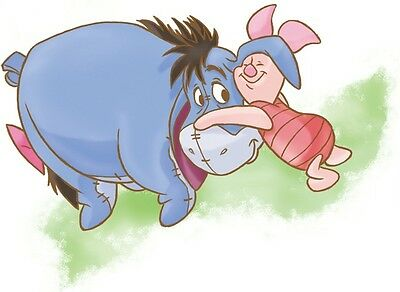 "9""x6"" EEYORE Winnie the Pooh Bear Disney Vinyl Wall Decal Sticker Nursery Room"