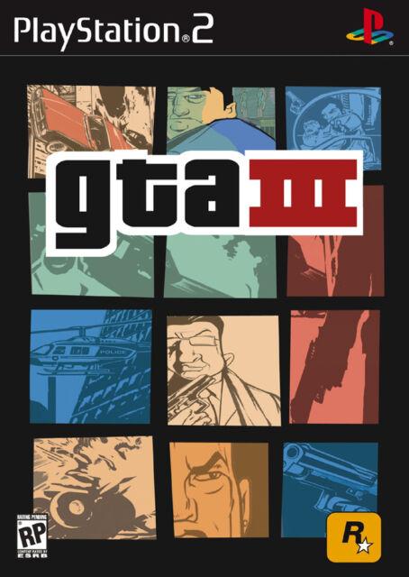 DIE BESTEN SPIELE ALLER ZEITEN FÜR PS2  Grand Theft Auto III