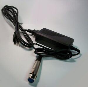 12VDC-5AMP-AC-Adapter-for-JVC-DVCAM-GY-DV500-GY-DV5000-4-pin-XLR-plug-AA-P250