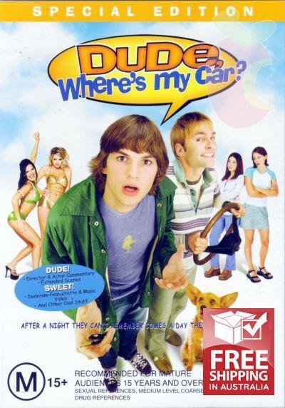 Dude Where's My Car? (DVD, 2002)