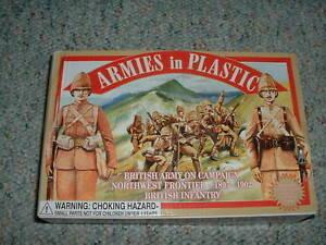 Armies-in-Plastic-1-32-54mm-Box-5423-Northwest-Frontier-1895-1902-British-Inf
