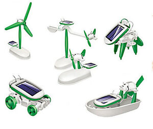 6-in-1-Educational-Solar-Powered-Manual-Assemble-Kits-Robotikis-Toy-New